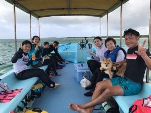 午前のお客様 近々島を出られる島在住のお客様、また遊びにいらして下さいね!