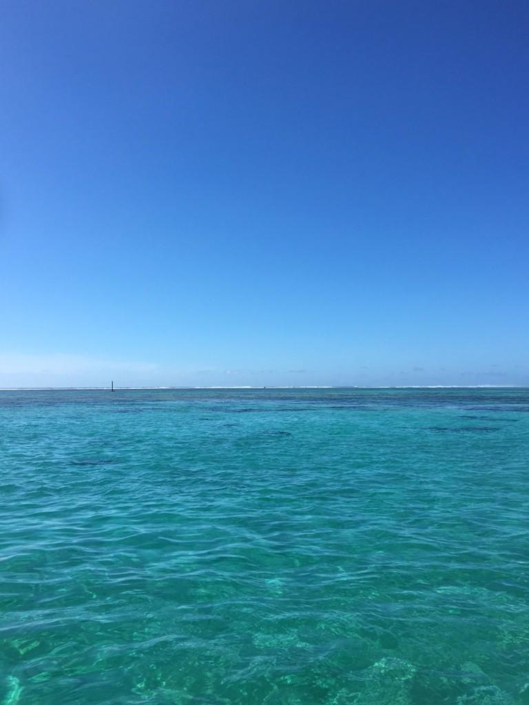 午前の白保フタナガの海